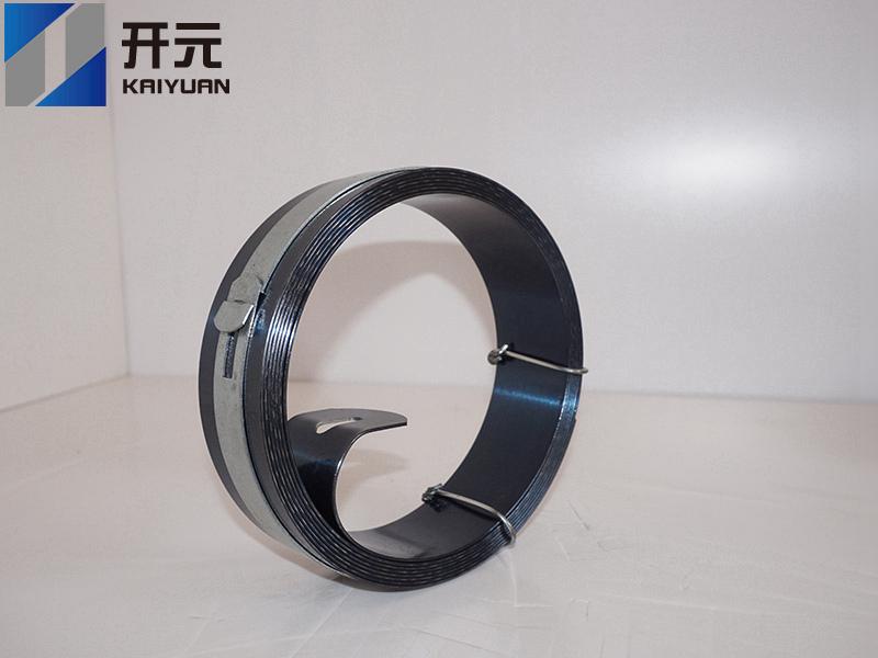 热处理钢带厂家:检测打包带质量的方法